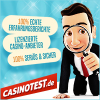 Casinotest.de - Internet Spielcasinos im Test