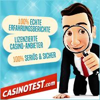 Casinotest.de - Internet Spielcasinos im Test
